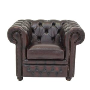 Chesterfield Armchair Oxblood-0