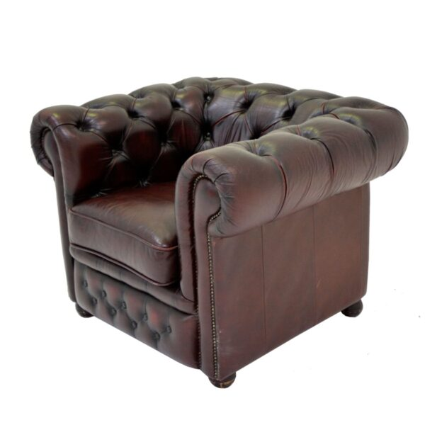 Chesterfield Armchair Oxblood-11167