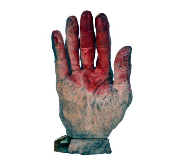 Horror severed hand