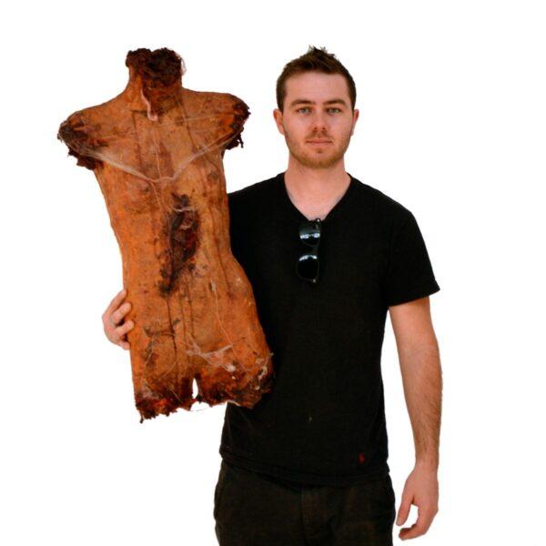 Horror severed torso