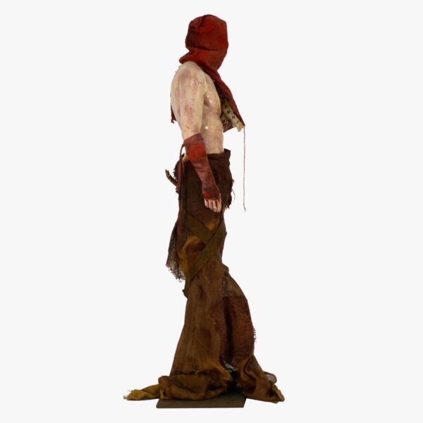 Shirtless Shaman Horror Figure-11414