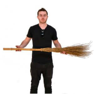 Straw Broom-0