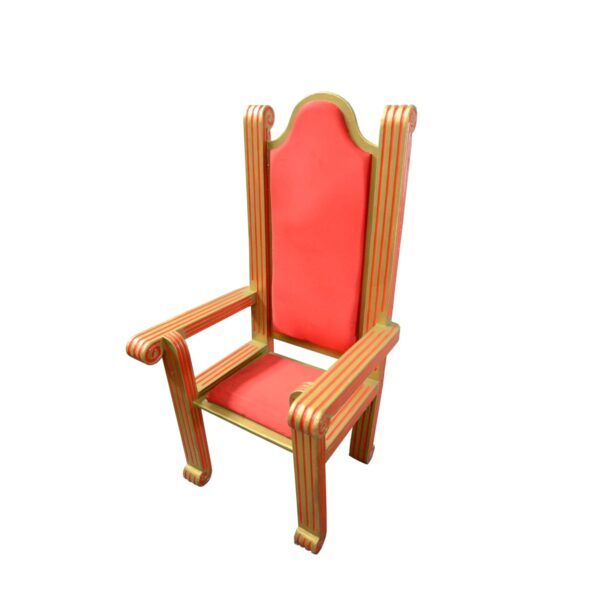Throne 5 - Red and Gold Santa Throne