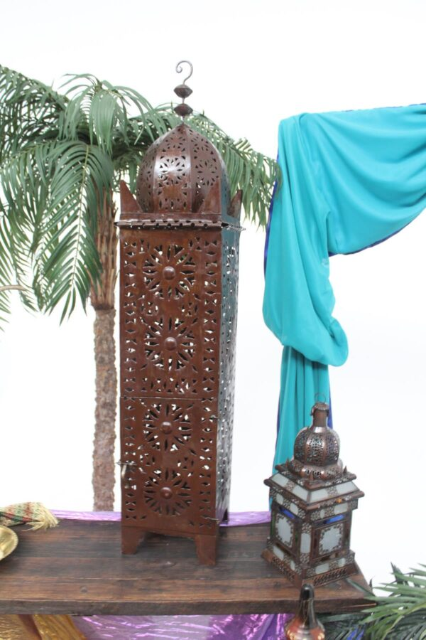 Arabian Style Wrought Iron Lamp
