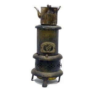 Rustic Antique Pot Belly Stove - Heater
