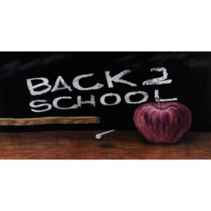 Back To School Painted Backdrop BD-0621