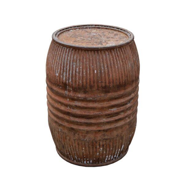 Metal Barrel with Lid