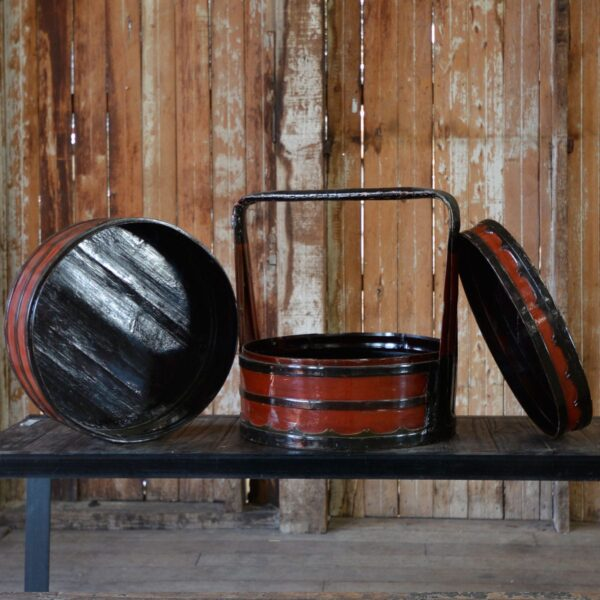 Chinese Steamer Basket Set