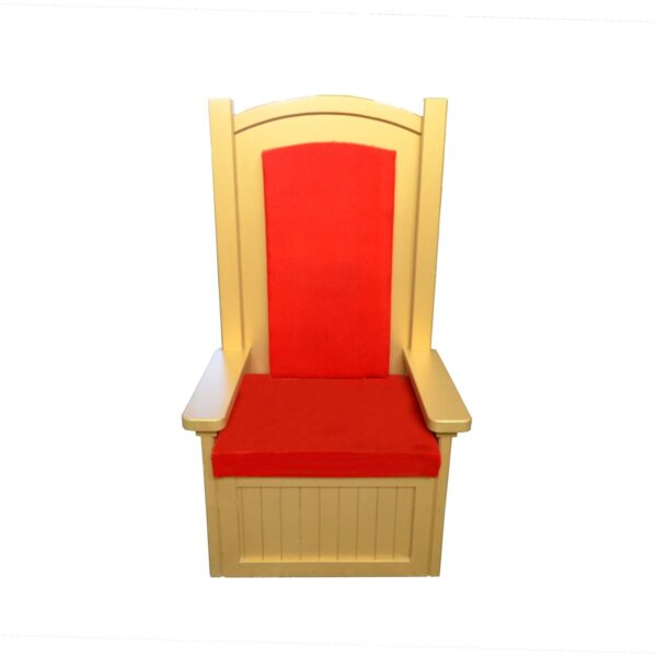 Throne 4 - Red and Gold King Allen Throne