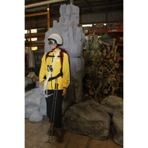 Skier - Mountain Climber Mannequin