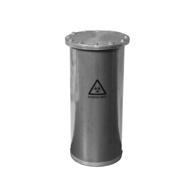 Stainless Steel Hazardous Waste Canister