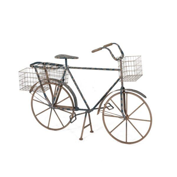 Rustic Metal Bicycle, for displays-0
