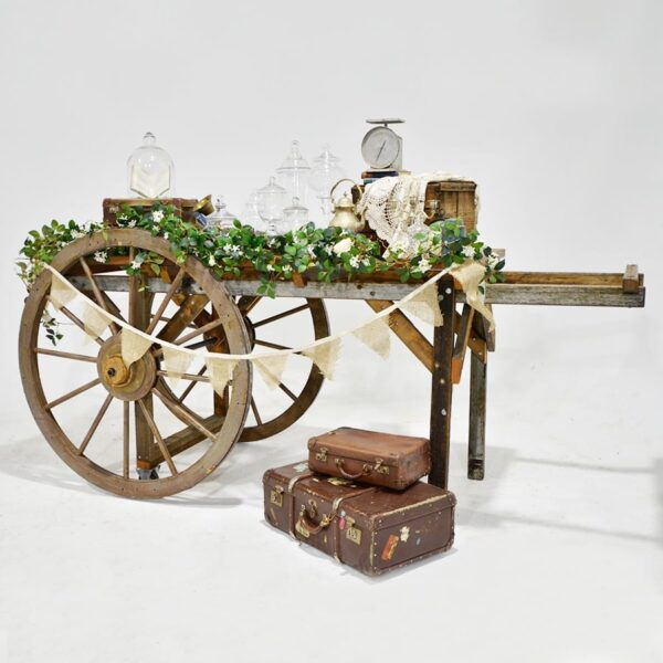 Cart 10 - Rustic Flat-bed Cart-18244