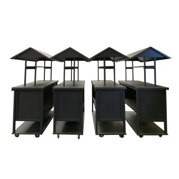 Cart 4, 5, 6 and 7 - Food Cart