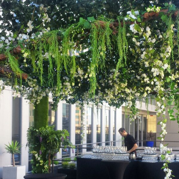 Faux Ivy Netting