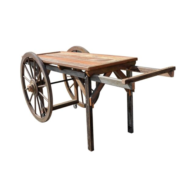 Cart 10 - Rustic Flat-bed Cart