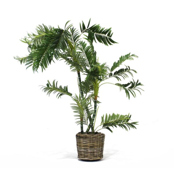 Artificial Twisted Palm Tree