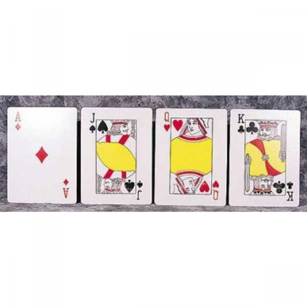 2 x small playing card cut outs CO56PLSM