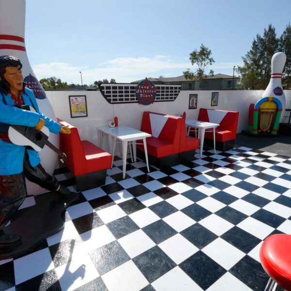 50s Diner Booths - Sydney Prop Specialists - Prop Hire and Event Theming