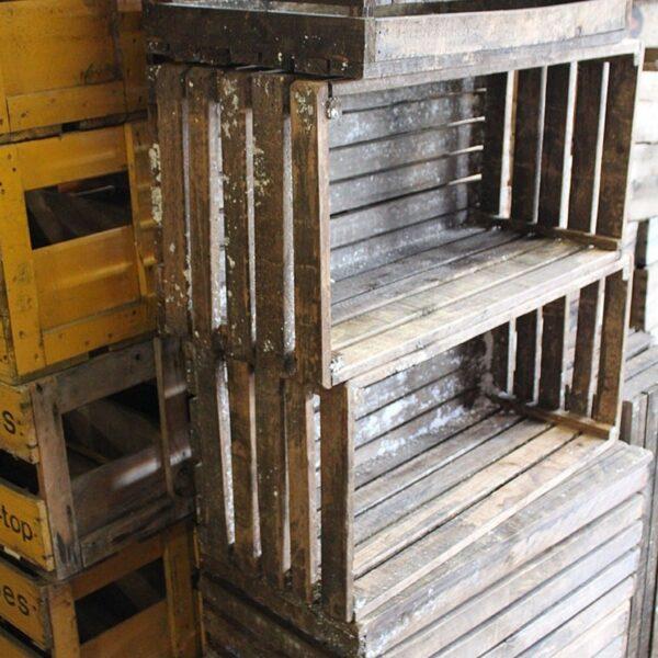 1 x medium wooden crates CRATESYD