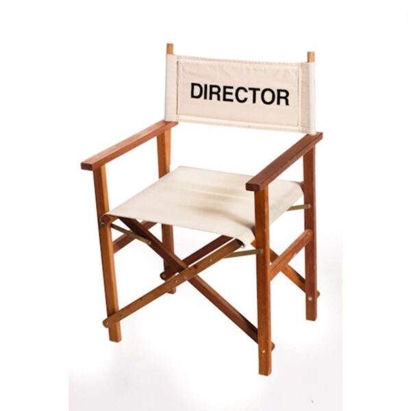 1 x director's chair CHDIRHOL