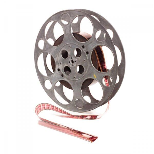 2 x large film reels FILMREEL