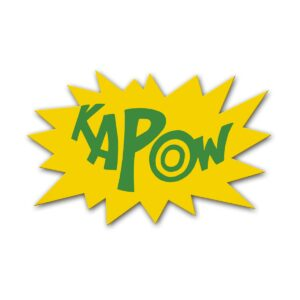 KAPOW Sign