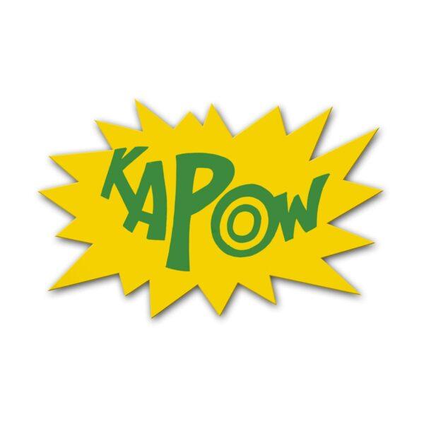KAPOW Sign
