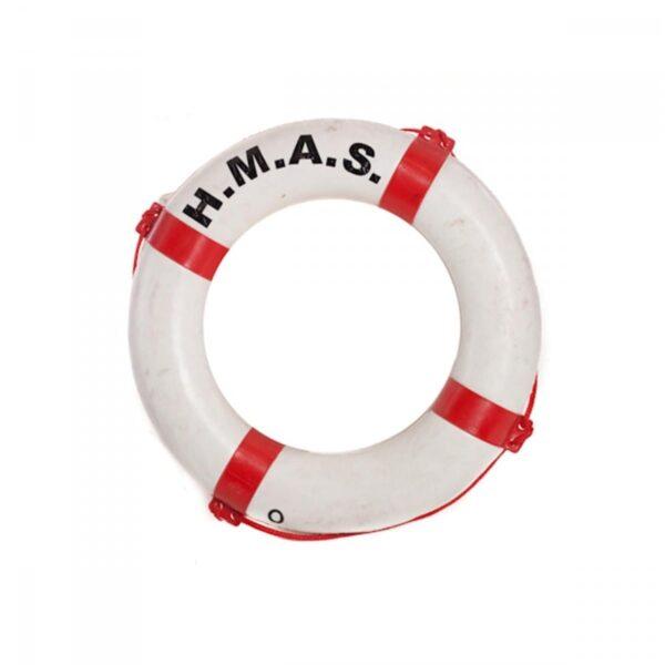 1 x life buoy (red and white) LIFEROUN