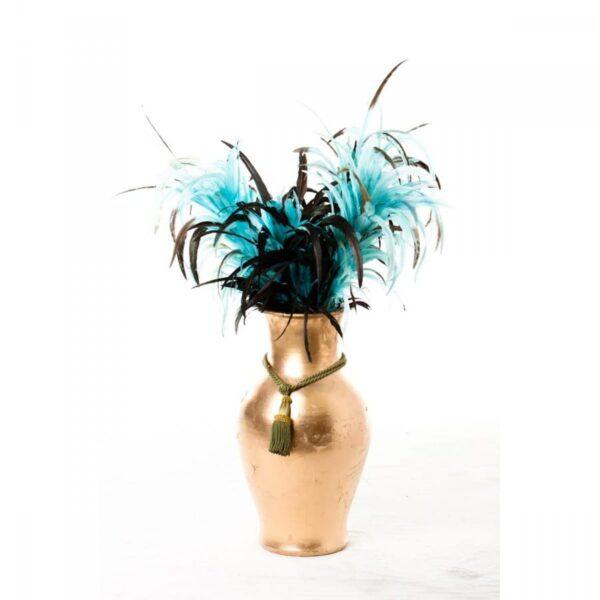 1 x small hourglass gold urn URNHOUR