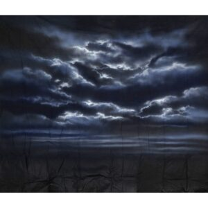 Storm Clouds at Night Painted Backdrop BD-0011
