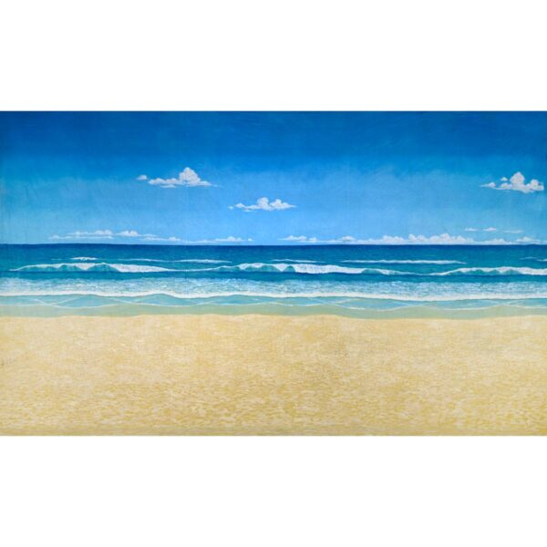 Perfect Beach with Sky Painted Backdrop BD-0022