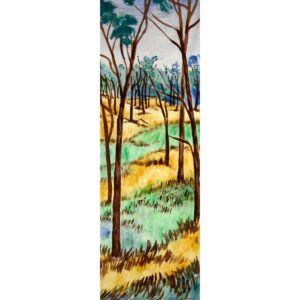 Tall Trees Painted Backdrop BD-0105