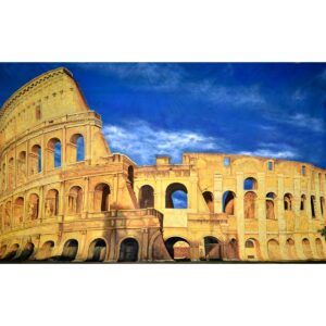 Colosseum Painted Backdrop BD-0132