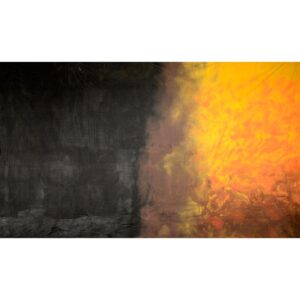 Brown Orange Yellow Gradient Painted Backdrop BD-0214