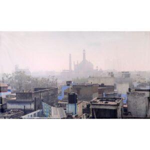 Indian Slum City Painted Backdrop BD-0252