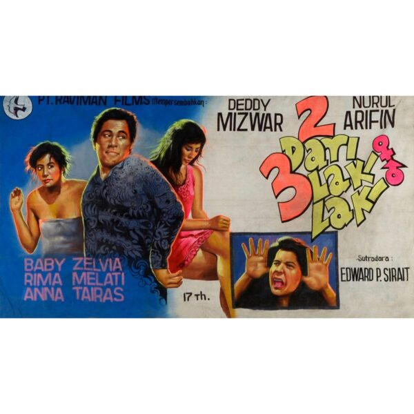 Bollywood Movie Poster Painted Backdrop BD-0254