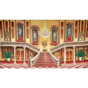Grand Ballroom Staircase Backdrop BD-0389
