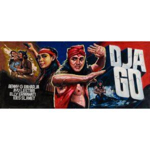 Bollywood Djago Painted Backdrop BD-0253