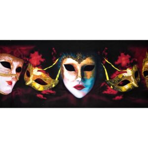 Masquerade Masks Backdrop BD-0650