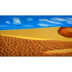 Arabian Desert Sand Dunes Backdrop BD-0682