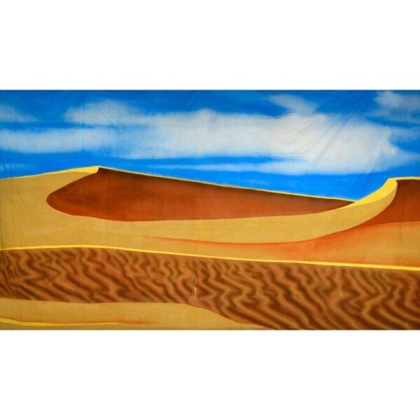 Arabian Desert Two Dunes Painted Backdrop BD-0683