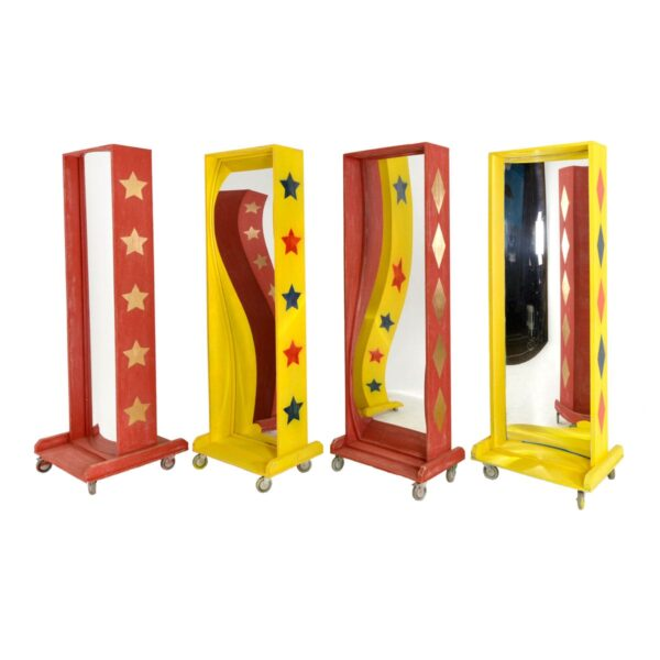 Vintage Circus Mirrors - 4 in stock