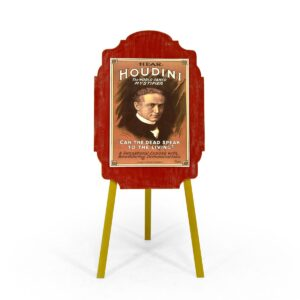 Vintage Circus - Poster on Decorative Wooden Easel