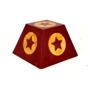 Vintage Circus - Red and Gold Plinth