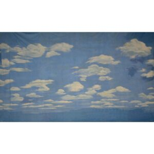 Blue Sky with Clouds Painted Backdrop BD-0012
