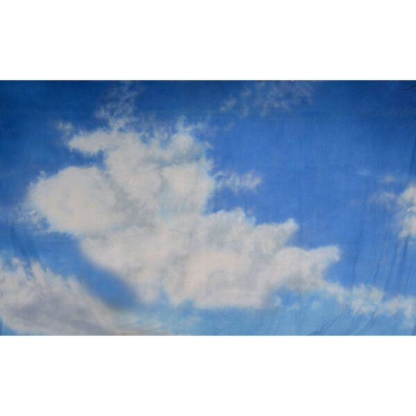 Blue Sky with Cloud Painted Backdrop BD-0015