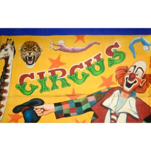 Circus Montage Painted Backdrop BD-0053