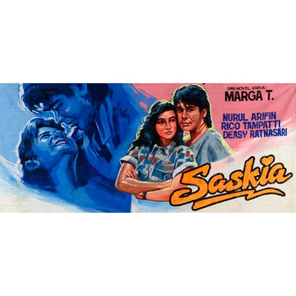 Bollywood Film Poster Painted Backdrop BD-0256