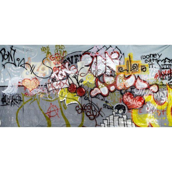 Graffiti Wall Painted Backdrop BD-0284